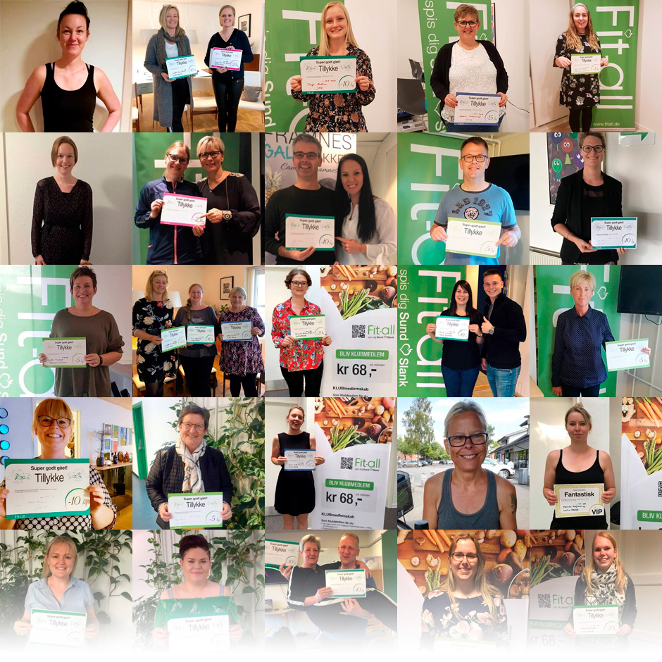 Vi har hjulpet mere end 7.000 kunder til vægttab!