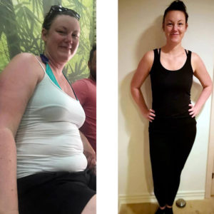 Vægttabshistorie Annie - vægttab 22 kilo