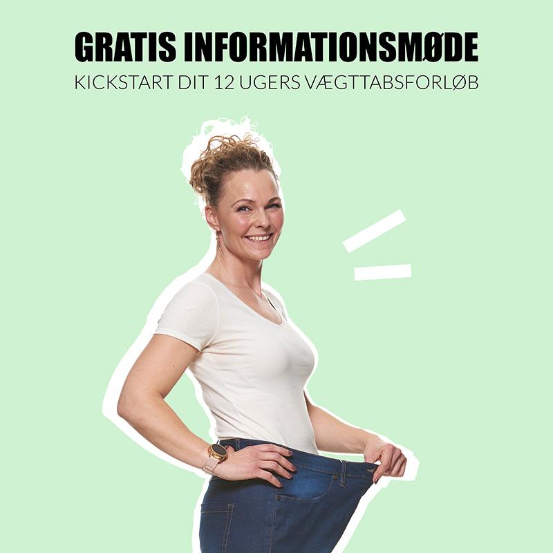 Kickstart dit vægttab på 12 ugers vægttabsforløb
